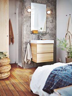 Beton: Der coole Baustoff liegt im Trend und zeigt an Wand und Boden oder als Accessoire seine wohnliche Seite