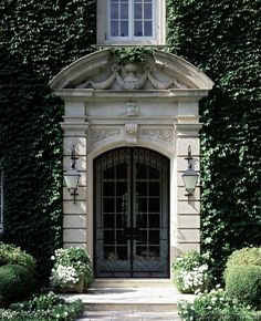 The Enchanted Home: You had me at the front door. Grand Entrance, Entrance Doors, Front Doors, Doorway, House Entrance, Exterior Design, Interior And Exterior, Portal, Enchanted Home