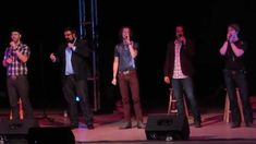 Home Free performing perfectly Lee Greenwood's God Bless The USA in Aust...
