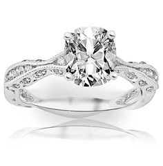 1.2 Carat Cushion Cut / Shape 14K White Gold Channel Set Eternity Curving Diamond Engagement Ring ( E-F Color , SI1 Clarity ) - See more at: http://jewelry.florentt.com/jewelry/wedding-anniversary/12-carat-cushion-cut-shape-14k-white-gold-channel-set-eternity-curving-diamond-engagement-ring-ef-color-si1-clarity-com/