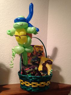 Ninja Turtle Easter Basket