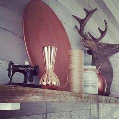 Decoration copper  Koper kleur