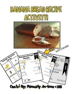 Banana Bread Recipe with Visuals (leveled!) by Primarily Au-Some