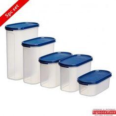 Signoraware Modular Oval Container Set of 5 Pcs Buy Kitchen, Kitchen Items, Storage Sets, Storage Organization, Kitchen Storage Containers, Amazon Today, Stuff To Buy, Free Shipping, Kitchen Essentials