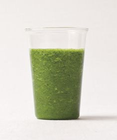 kale-apple smoothie  (9 other healthy smoothie recipes here: http://www.realsimple.com/food-recipes/recipe-collections-favorites/10-recipe-ideas-for-smoothies-00000000049865/)