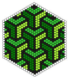 Weave Green Design Perler Bead Pattern More You are in the right place about Beading aesthetic Here we offer you the most beautiful pictures about the african Beading you are looking for. Perler Bead Designs, Perler Bead Templates, Hama Beads Design, Diy Perler Beads, Perler Bead Art, Pearler Beads, Fuse Beads, Hama Beads Coasters, Melty Bead Patterns