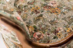 Yukiko Nagai - this artist covers furniture with mosaics that mimic upholstery. Amazing detail!