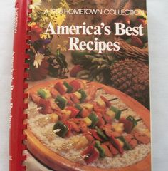 America's Best Recipes A 1988 Hometown Collection PB Spiral (101514-1271)vintage $2.50