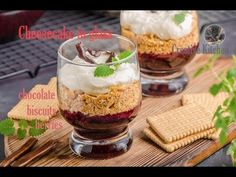 Raspberry compote and graham cracker trifle Graham Crackers, Receita Trifle, Nutella, Happy Thanksgiving Turkey, Cheesecake, Trifle Recipe, Chocolate Biscuits, Recipe From Scratch, Dessert Recipes
