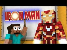 """IRON MAN vs Monster School - Minecraft Animation Challenge press like and share the video , your support means a lot INSPIRED BY: """"Platabush&q. Minecraft Iron, Minecraft School, Iron Man, Zombie Life, Iron Golem, Wolf Life, Animation, Man Vs, Spiderman"""