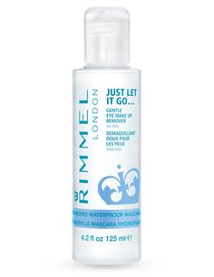 Long lasting and waterproof eye make up remover by Rimmel London