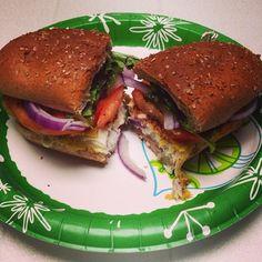 ... Fried Fish Sandwich. on Pinterest   Fried fish, Homemade tartar sauce
