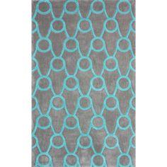 nuLOOM Handmade Modern Trellis Grey Rug (7'6 x 9'6)   Overstock™ Shopping - Great Deals on Nuloom 7x9 - 10x14 Rugs