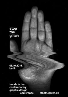 poster #graphicdesign #glitch #poster #posterdesign #hand #creative #typo