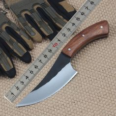 [Visit to Buy] FBIQQ Hot Selling Hand straight knife Hunting Knife Tactical Survival Knives High carbon steel Blade Steel Outdoor Multi Tools Bushcraft Knives, Tactical Knives, Tactical Survival, Survival Knife, Knife Making Tools, Military Knives, Knife Patterns, Butcher Knife, Craftsman Furniture