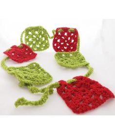 @Sheila S.P. S.P. Byrne  Here's my answer to no christmas decorations LOL.....Handmade crocheted christmas garland