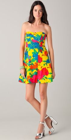 so excited to wear this! Nanette Lepore Frida's Frock Strapless Dress