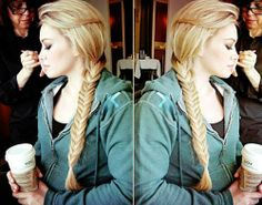 I want to know how to do a fish tail braid so bad. Crazy Braids, Cool Braids, Hair Health And Beauty, Hair Beauty, Pretty Hairstyles, Braided Hairstyles, Hair Heaven, Natural Blondes, Let Your Hair Down