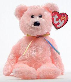 Sherbet (pink) - bear - Ty Beanie Babies Beanie Baby Bears bb3a6110929b