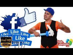 Facebook Logo Like Balloon Art - Palloncini modellabili - Balloon art Facebook Like logo. How to twist balloon.  Like Facebook logo - Scultura con Palloncini - Nell'articolo di oggi vi spiegheremo come realizzare una scultura con i palloncini modellabili a forma di Like! Il logo di Facebook con la mano con il pollice in su!