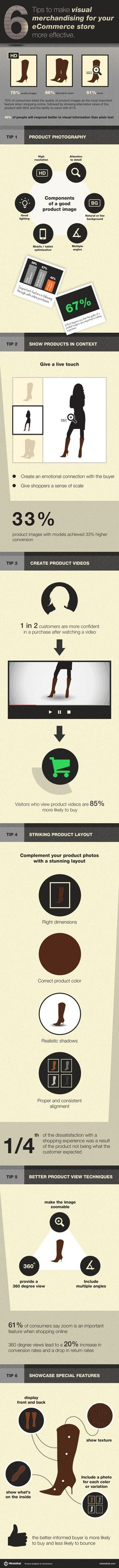 eCommerce: Visual Merchandising Tips [Infographic] Rainbow Website, Merchandising Tips, Website Optimization, Technical Writing, Do It Yourself Fashion, Shops, Information Graphics, Book Authors, Digital Marketing