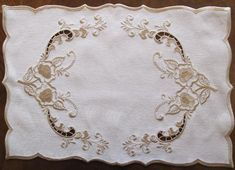 Classic roses with cutwork - Enigma Embroidery   OregonPatchWorks