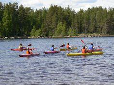 Canoe trip in Finland