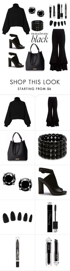 Paint It Black by siriusfunbysheila1954 on Polyvore featuring Diesel, Alexis, Erica Lyons, Guerlain, Christian Dior and Rimmel