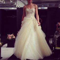 The most buzzworthy new wedding gowns from the runways