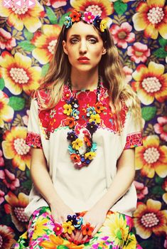 Spring/Summer 2012 posie jewellery from Tatty Devine | Beauty And The Dirt