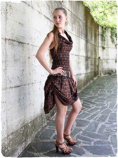 Moda etnica Online - Vestito Samanta Vestito elegante in puro cotone, gonna con lacci per regolare l'altezza made in Guatemala 100% cotonelavabile in lavatrice 0° S/M - M/L Tessuto realizzato con telaio manuale #modaetnica #ethnicalfashion #alpacaswhool #lanadialpaca #peruvianfashion #peru #lamamita #moda #fashion #italianfashion #style #italianstyle #modaitaliana #lamamitafashion #moda2015 #fashion2015 #modaetnicaonline