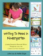 nellie edge kindergarten seminars...  This site has a lot of great Kindergarten Literacy Ideas :)