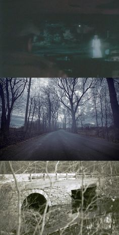 These 5 stretches of US blacktop are said to have everything from ghosts to escaped zoo animals, all ready to scare the hell out of you this Halloween. Spooky Places, Haunted Places, Haunted Houses, Creepy Stories, Ghost Stories, Ghost Hauntings, Creepy Ghost, Real Ghosts, Ghost Adventures