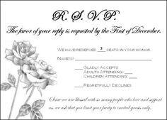 Rsvp cards for buffet wedding google search wedding invites need wording help addressing guests who rsvpd for extra people weddingbee stopboris Image collections