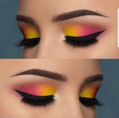Love or not? Double tip for this eye make-up from - Love or not? Double tip for this eye make-up from The Effective Pictures We Offer You A - Pink Eye Makeup, Makeup Eye Looks, Eye Makeup Steps, Beautiful Eye Makeup, Colorful Eye Makeup, Eye Makeup Art, Smokey Eye Makeup, Makeup Inspo, Eyeshadow Makeup