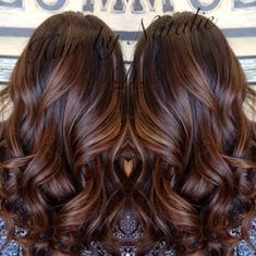 New hair highlights for brunettes balayage Ideas Auburn Balayage, Brown Hair Balayage, Hair Color Balayage, Ombre Hair, Blonde Balayage, Brown Blonde, Blonde Ombre, Brown Hair With Caramel Highlights Dark, Cinnamon Brown Hair Color
