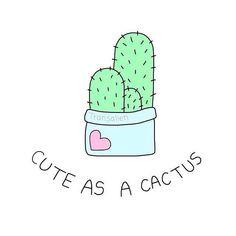 Cute as a cactus...