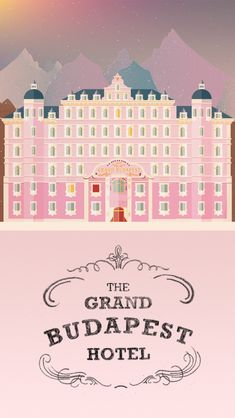 Titles - The Grand Budapest Hotel on Behance