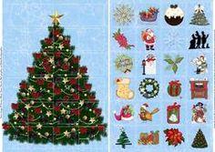 Advent Card Traditional Christmas