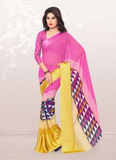 Peppy Casual Saree For Casual