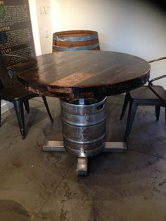 The Keg Stool Kit Turn a Keg Shell into a