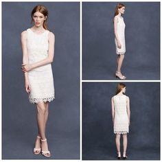 Short Lace Dress   J.Crew