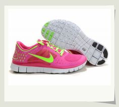 new arrival 1af8e 902d8 ... low cost womens nike free run 3 running shoes magenta hot pink  fluorescent green b5152 41dc3