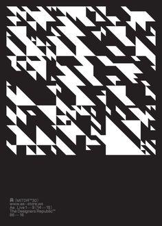 The Designers Republic / Autechre / Ae_Live 19 (1415) / Poster...