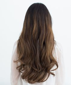 Ombre Hair Extensions - Mocha Chestnut Brown - T1C/6 (160g)