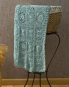 Crochet motifs, Learn how to crochet the Andante throw with this free, easy to crochet afghan pattern featuring decorative joined squares. Crochet Motifs, Crochet Squares, Crochet Stitches, Granny Squares, Love Crochet, Learn To Crochet, Simple Crochet, Beginner Crochet, Afghan Crochet Patterns
