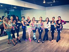 Get fit with baby! #barreucda #barrestrong #babytothebarre