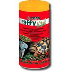 Descripción: Alimento vegetal para tortugas terrestres y reptiles herbívoros. SERA raffy Vital es una mezcla deliciosa y rica en fibras de pellets de hierbas y tabletas alimenticias que todos los reptiles herbívoros aceptan con mucho gusto. Precio:3€