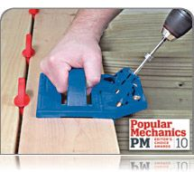 The Kreg Deck Jig helps you get the deck you want, without any unsightly exposed nails or screws. This product is easy to use easy to install and highly durable