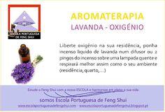 Escola Portuguesa de Feng Shui: AROMATERAPIA - LAVANDA - OXIGÉNIO